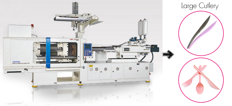 Cutlery Injection Machine