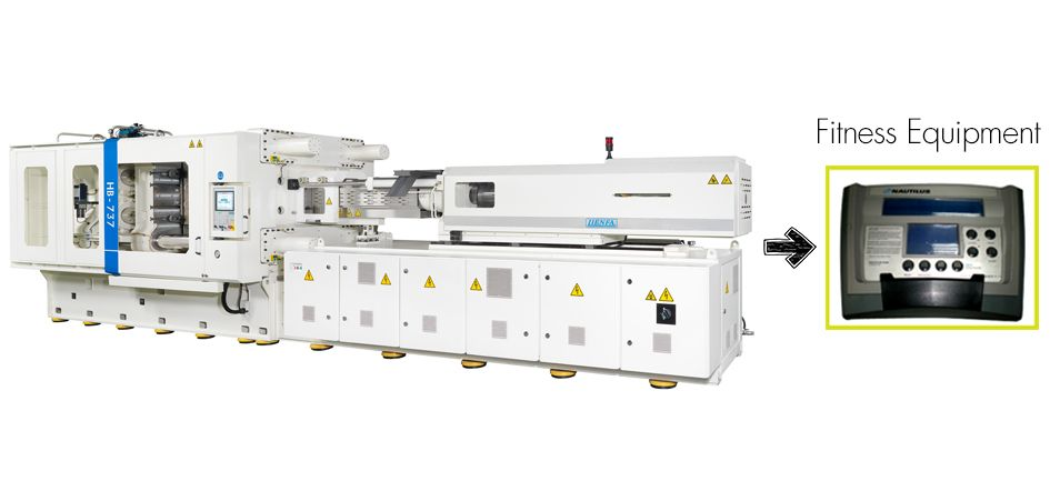 700T Plastic Injection Machine